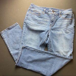 St. John's Bay straight leg jeans. Like new.